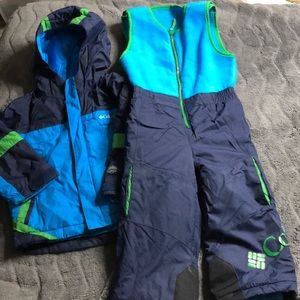 Boys 3T Columbia snow ❄️ set